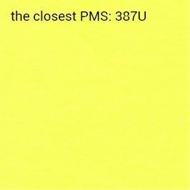 hojas adhesivas amarillo brillante 70g/m2 (impresión recomendada negro)