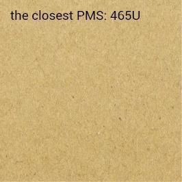hojas adhesivas kraft ecológico 90g/m2 (impresión recomendada PMS/HKS)
