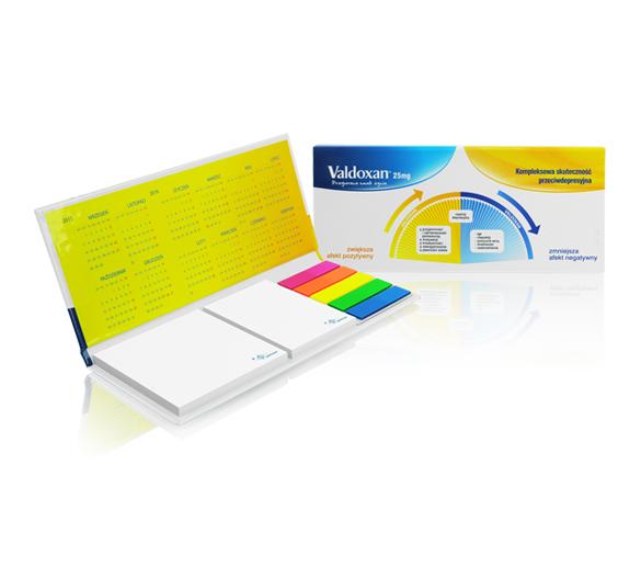 PM130 Set de notas adhesivas con cubierta de tapa dura