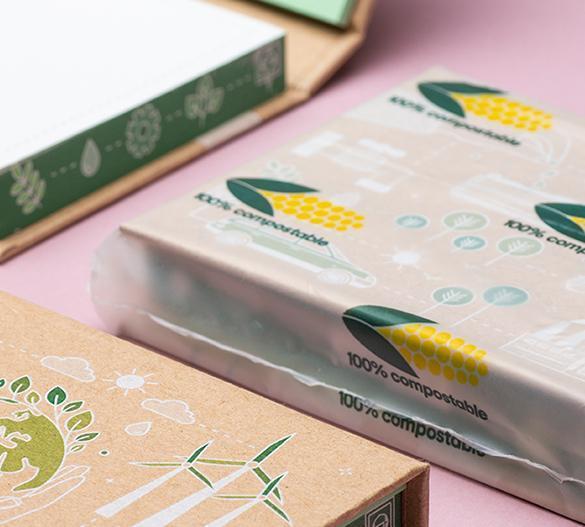 PM100-ECO Set de notas adhesivas con cubierta de tapa dura