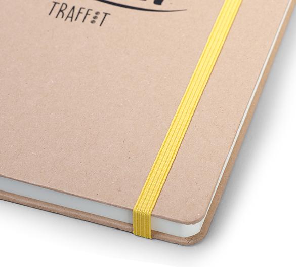 MN36-KRAFT Mindnotes con cubierta dura de papel KRAFT