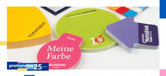 The most versatile promotional product in the world – sticky notes