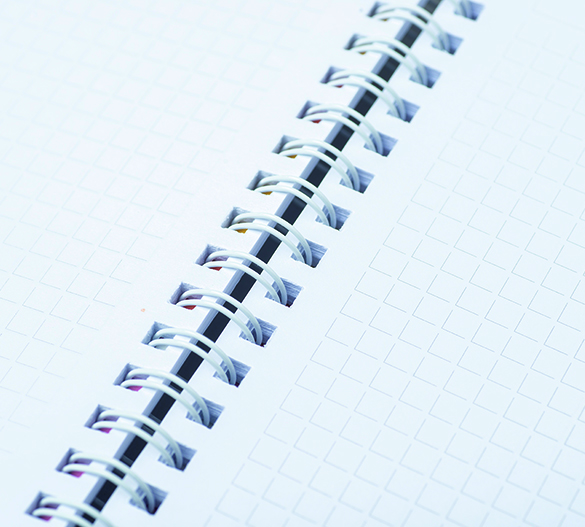 PM301 Blos de notas con cubierta de tapa dura y espirala