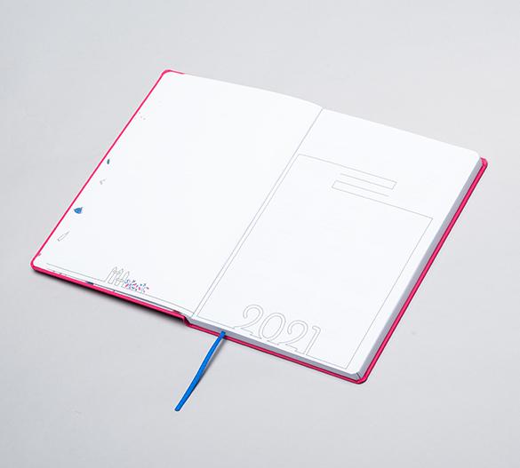 MN35-CAL-ROMA Agenda Mindnotes® con cubierta dura flexible en ROMA